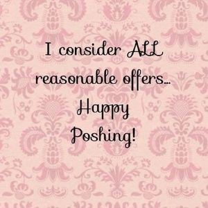 All reasonable offers are considered ♡
